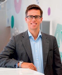 Joukkorahoitusmarkkinoilla on kasvun kuhinaa. Suomalainen Invesdor.com hakee itselleenkin joukkorahoitusta kansainvälistä kasvua varten. Kuvassa yrityksen toimitusjohtaja Lasse Mäkelä.